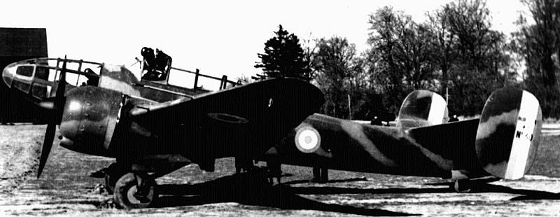 Bloch MB 174 à Meaux-Esbly, début 1940.(Coll. SHD)
