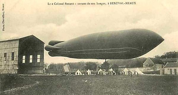 Le Colonel Renard à Meaux-Beauval (coll. part.)