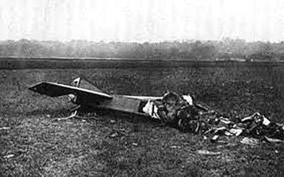 Deperdussin n°72, abattu le 5 septembre à Varreddes (Images de la Guerre 6/12/1914)