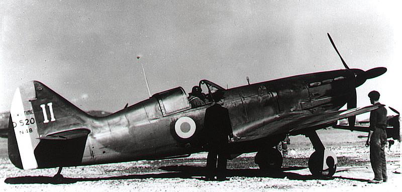 Dewoitine D.520 aux essais en mars 1940 (Collection S.H.A.A).