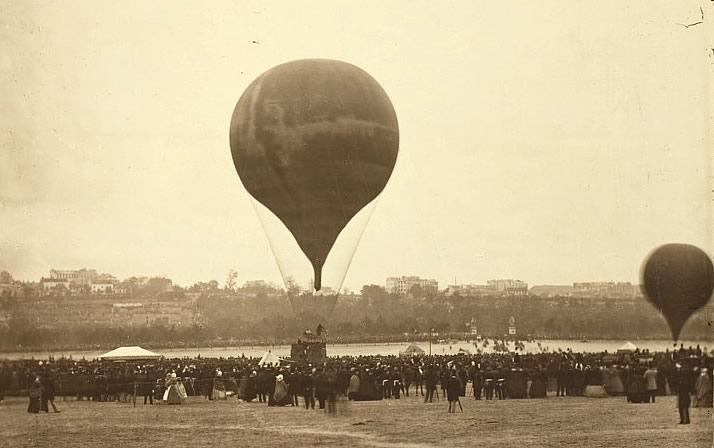 Le Géant au Champ de Mars en 1863