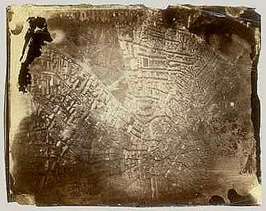 1ère photo aérienne – Nadar (coll. part.)