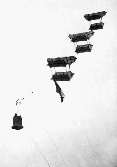 Train de cerfs-volants (coll. part.)